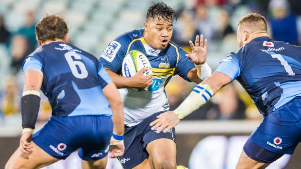 Ita Vaea of the ACT Brumbies was given little chance to play rugby again.
