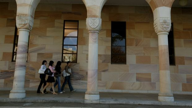 A UQ student is accused of hacking into a university computer system to cheat his way to better marks.