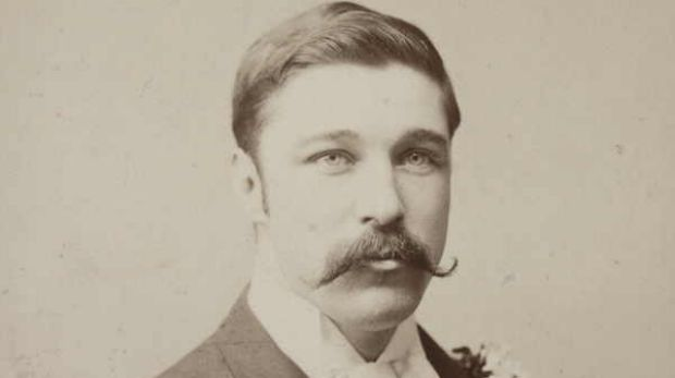 Author Fergus Hume was a victim of blackmail.