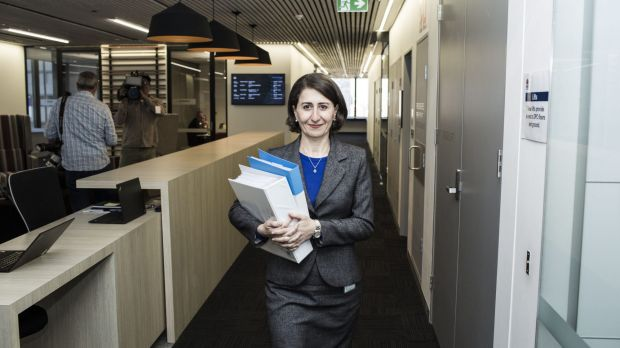 Barangaroo station plans: NSW Treasurer Gladys Berejiklian.