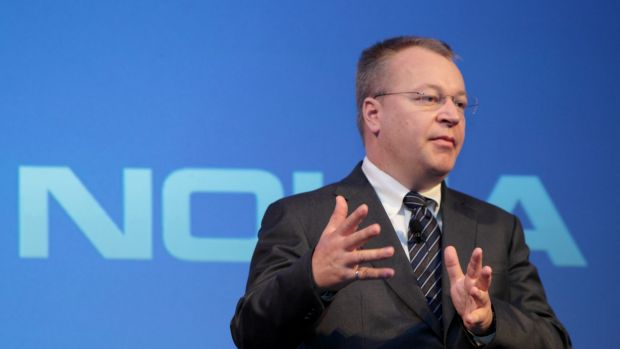 """As Nokia boss, Stephen Elop entered corporate folklore with his """"burning platform"""" memo: """"We too, are standing on a ..."""