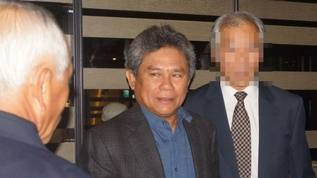 <b>The Malaysians:</b> Mohammad Lan Bin Allani says he cannot recall the Dudley House dealings.