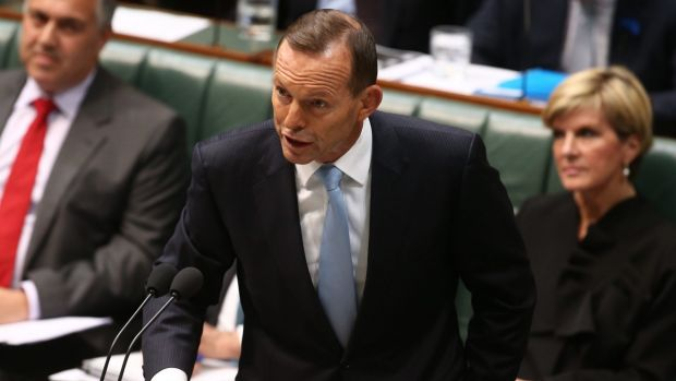 Prime minister Tony Abbott is weighing tougher emissions reduction targets than conservatives in cabinet had wanted.