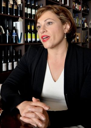 """Jackie Trad: """"We made a commitment ... that we would merger the power companies."""""""