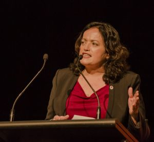 Community and Public Sector Union national secretary Nadine Flood says the Coalition wants to take the public service ...