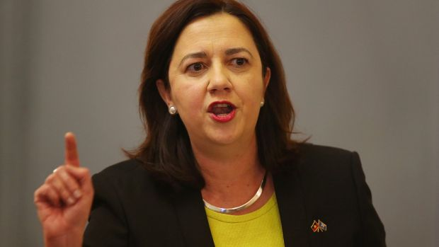 Annastacia Palaszczuk's government has said it will wait to see if new laws are needed to stem the tide of revenge porn.