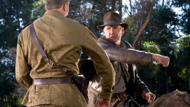 Harrison Ford in 2008's <i>Indiana Jones and the Kingdom of the Crystal Skull</i>.