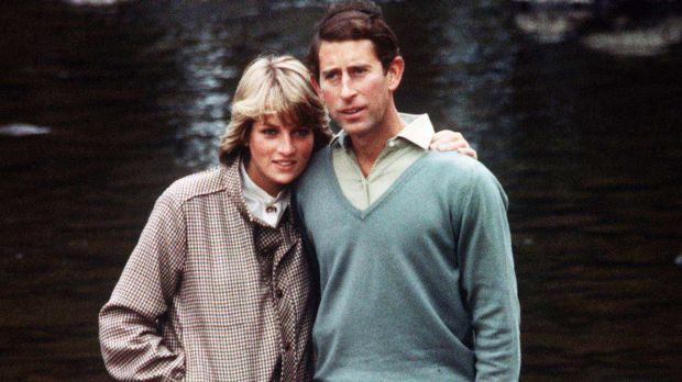 Prince Charles and Princess Diana in 1981.