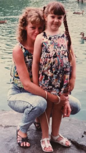 """""""My heart broke for my daughter Tara ... alone in a troubled and dangerous country"""": Karen Nettleton and her daughter Tara."""