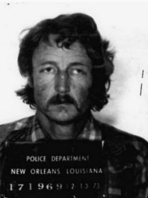 Raymond Stansel in a 1973 mugshot in New Orleans.