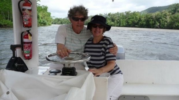 'Lee' and Janet on the Daintree River in more recent times.