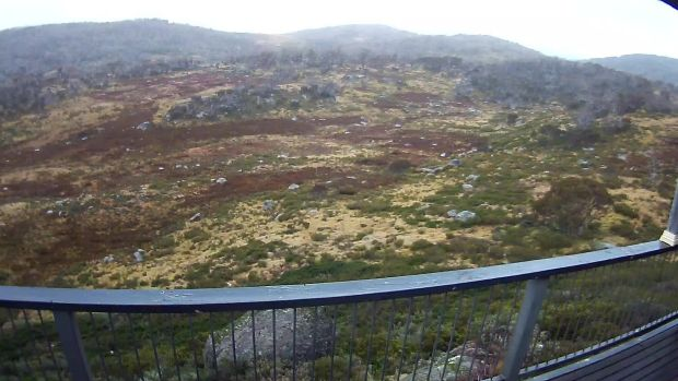 South Perisher short of snow on Wednesday.