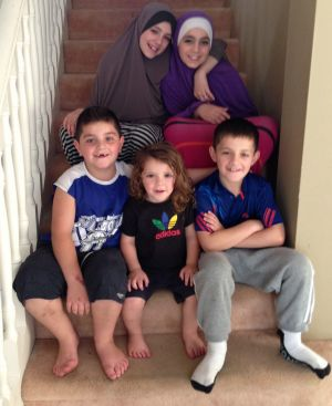 Karen Nettleton's five grandchildren remain in Syria.