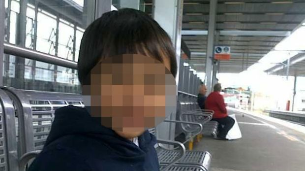 The seven-year-old boy who died of his injuries.