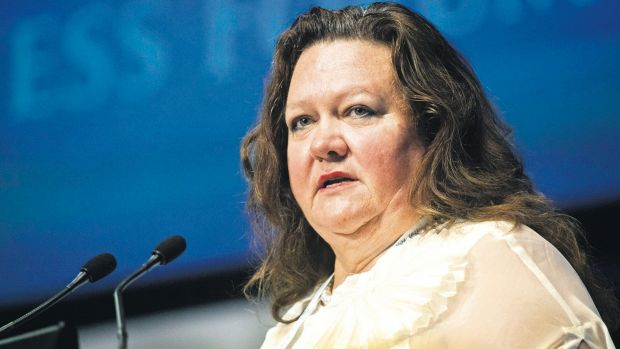 Gina Rinehart's Hancock Prospecting would be among a number of private companies that would have to publicly report ...