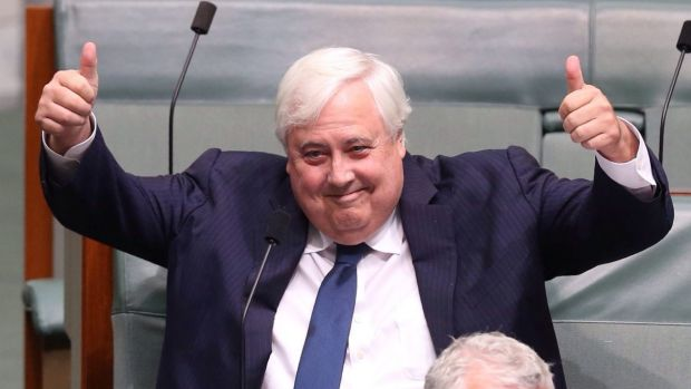 Clive Palmer says he could have pocketed millions from Queensland Nickel but instead chose to use it to bankroll his party.