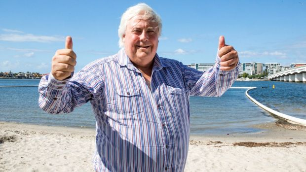 Clive Palmer remains committed to his favourite pastime, litigation.