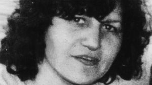 Maria James was stabbed in a Thornbury bookshop in 1980.