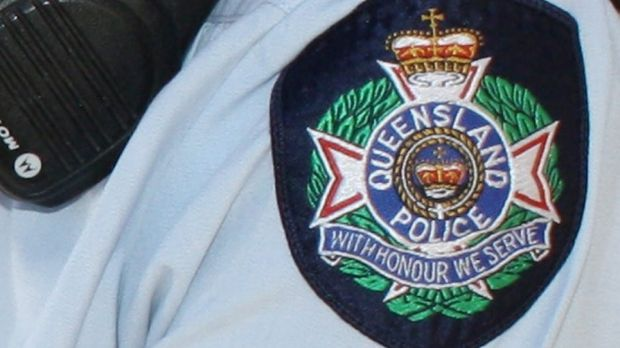 A police officer suffered a broken leg trying to arrest a drunk man near Bundaberg.