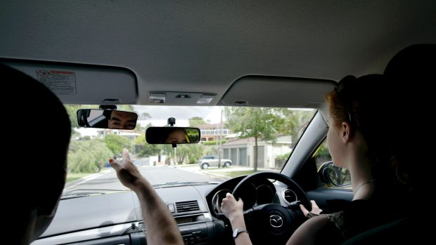 About 37 per cent of driving tests in Queensland result in a fail.