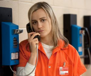 Taylor Schilling as Piper Chapman in Netflix series <i>Orange Is the New Black</i>.