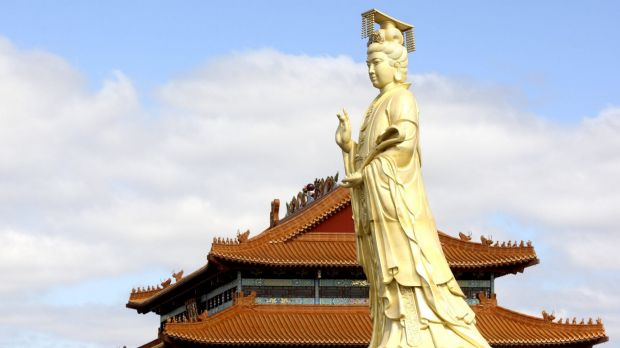 The Heavenly Queen Temple in Footscray is part of the cultural mix that enriches Melbourne.