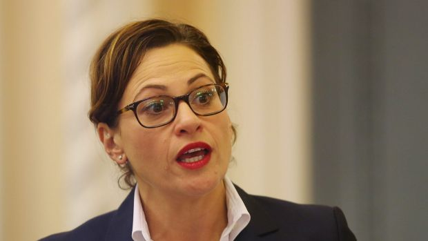 """Acting Premier Jackie Trad said: """"Out of an abundance of caution we have closed the office today""""."""