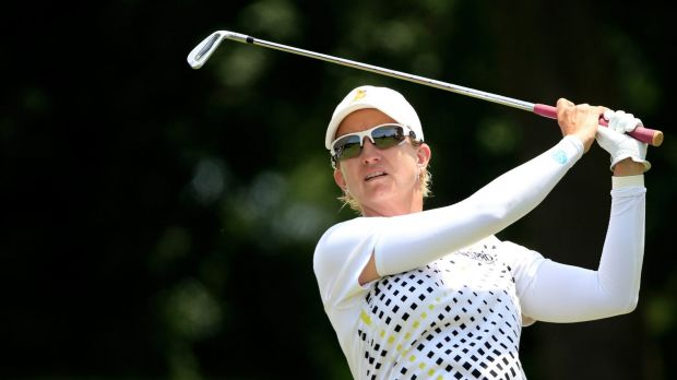 Headline act: Karrie Webb would cherish an Olympic medal of any colour.