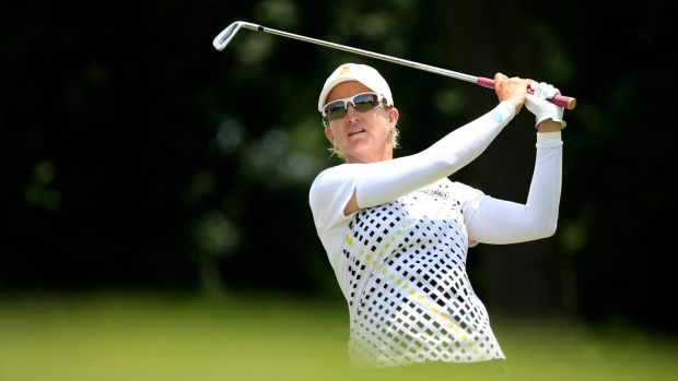 """Karrie Webb: """"The golf ball doesn't know how old you are."""""""
