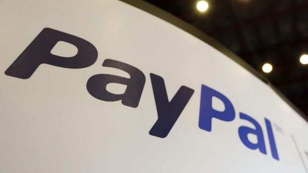 PayPal has been hit.