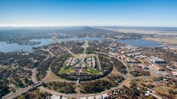 Canberra has the most green space of Australia's major cities.
