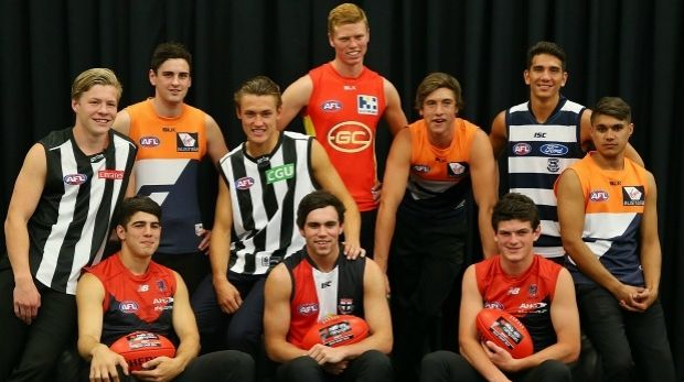 The top 10 draft picks from the 2014 AFL draft.