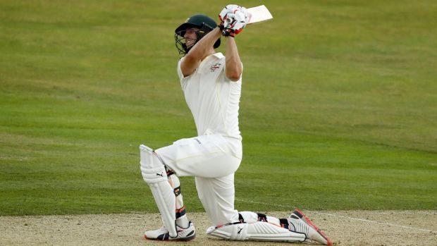 Stepping up: Mitchell Marsh will replace Shane Watson for the second Test.