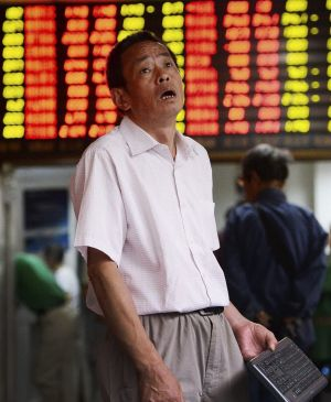 The Shanghai Composite Index fell almost 6 per cent on Friday, continuing a slump that has investors seriously concerned.