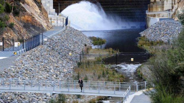 Cotter Dam: One of the huge assets managed by Icon Water.