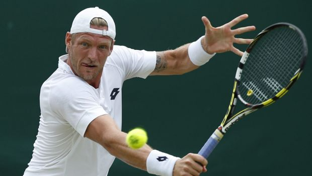 Confident: Sam Groth believes he can trouble the world's best.