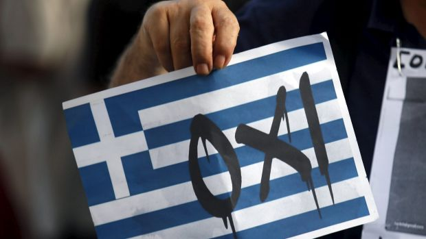 "Oxi: By saying ""no"" Greece has placed its economic future in the hands of others."