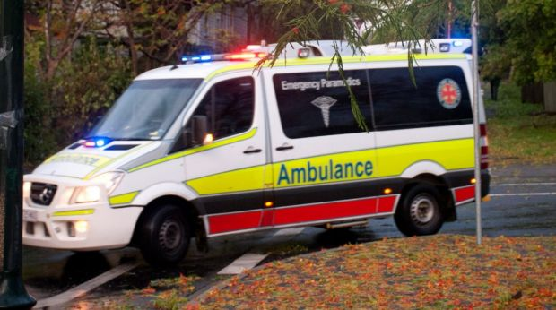 A woman is trapped in her car after a collision with a truck in Northgate,