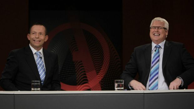 Tony Abbott may have the odd happy memory of appearing on the ABC's Q&A back before he was Prime Minister.