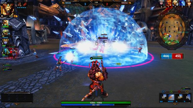 Smite makes the MOBA more accessible to newcomers with a familiar behind-the-character perspective. An Xbox version is ...