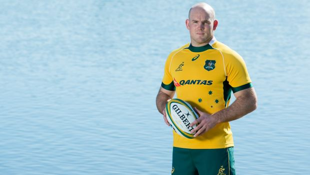 Behind the Diamonds: Wallabies skipper Stephen Moore and his teammates will be cheering for Australia's netball team.