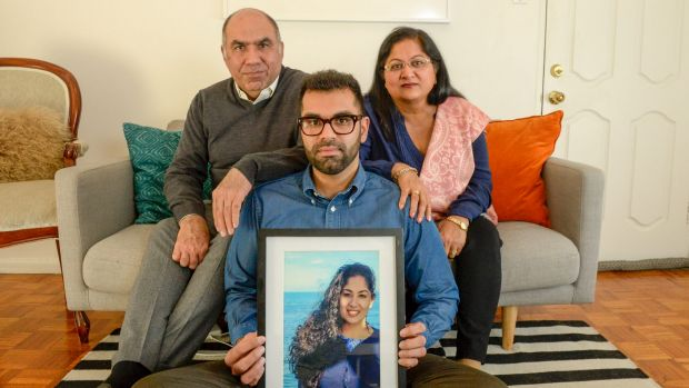 Nikita Chawla's parents Umesh and Sunila and brother Tarang hope their story can help other sufferers of abuse.