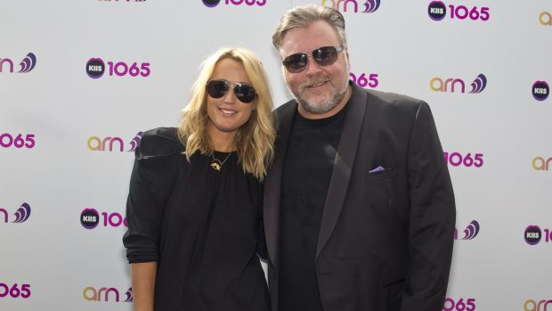 Happy Christmas: Breakfast duo Kyle Sandilands and Jackie Henderson has delivered for KIIS.