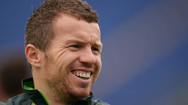 Ready to go: Peter Siddle at a training session in Cardiff.