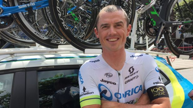 Broken collarbone: SImon Gerrans.