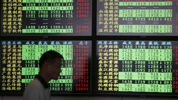 For the week, the CSI300 was up 5.7 per cent and the Shanghai Composite rose 4.5 per cent, their first weekly gains ...