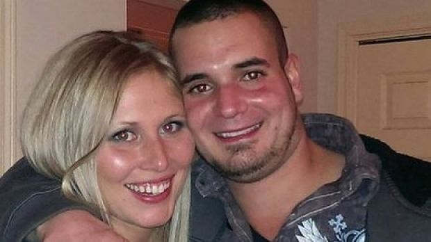 Justin Bartek, 30, died when he exploded a Medieval Knight firework on his chest at a fishing spot in Columbus, Texas.