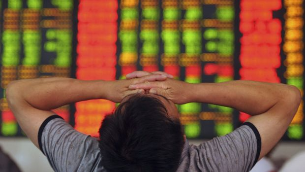 China's sharemarket has been feeling the pain this week.