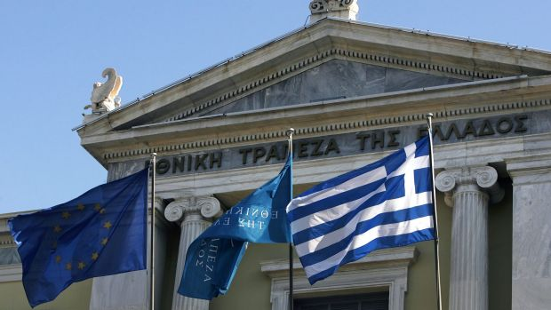 The Greek crisis threatened the country's membership of the Euro zone.
