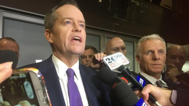 Bill Shorten remained defiant on Thursday afternoon.